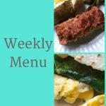 Weekly Menu 6/10/18- 80 Day Obsession Peak Week