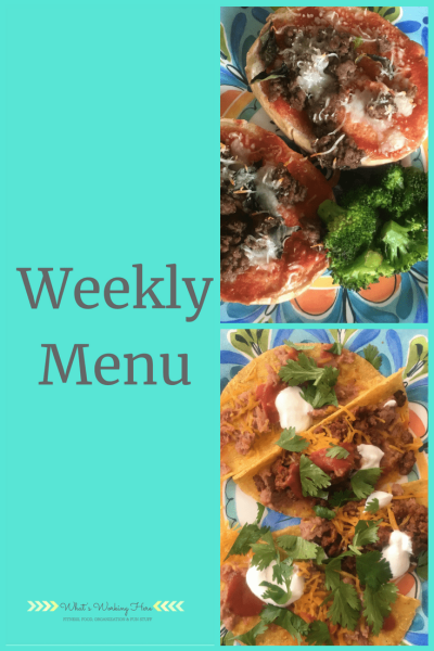 Aug 12th Weekly Menu - Healthy Kid Favorites
