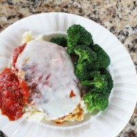 Easy Chicken Parmesan Meal