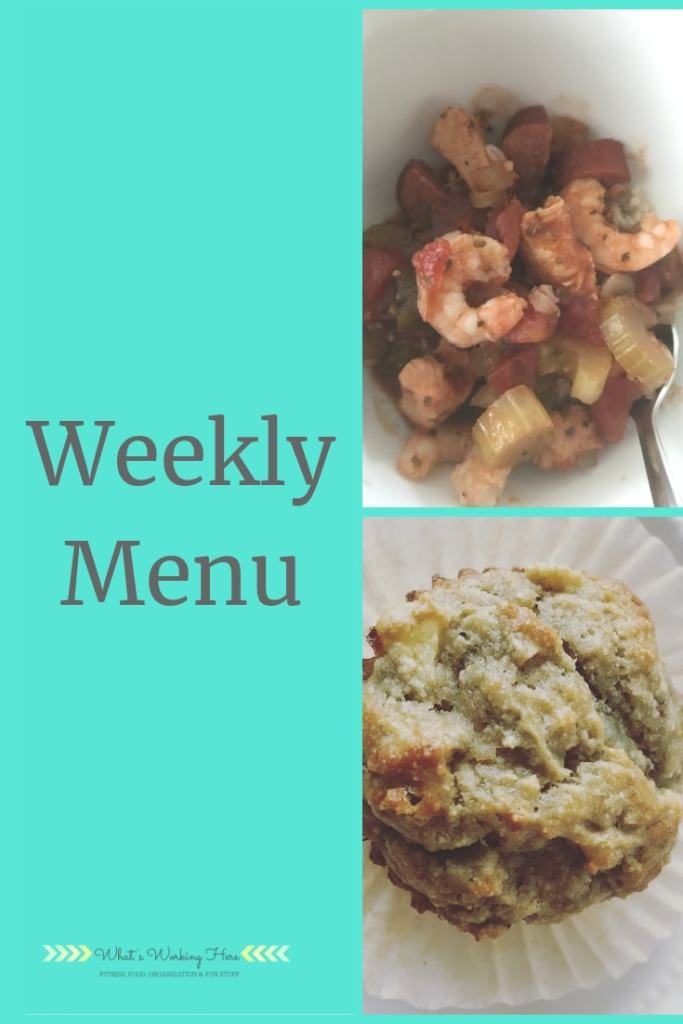 Dec 16th Weekly Menu - eat what you've got