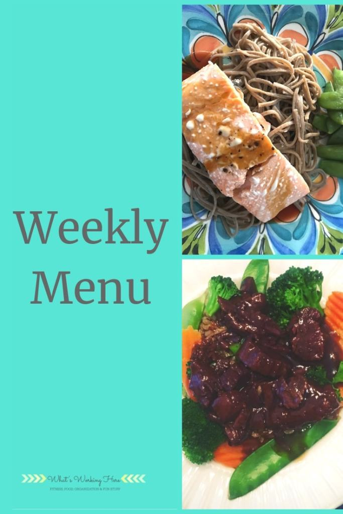 Feb 10 Weekly Menu - Transform 20- Featuring Teriyaki Salmon and Mongolian Beef
