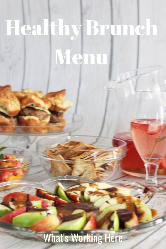 Healthy Brunch Menu- A healthy menu for your next brunch gathering using all FIXATE recipes