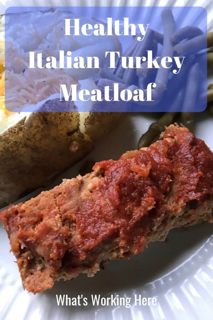 Healthy Italian Turkey Meatloaf