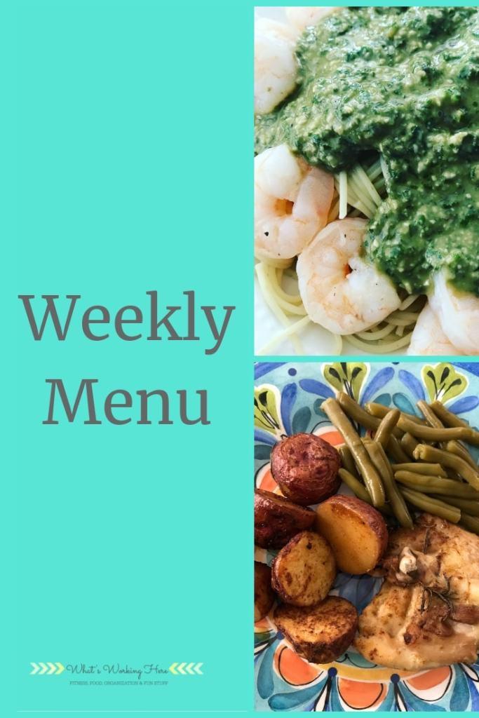 Fresh Herb Recipes -June 2nd Weekly Menu