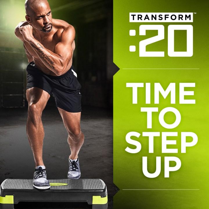 Transform :20 Shaun T 20 minute step workout