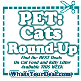 Cat Food, Treats and Kitty Litter on Sale RIGHT NOW