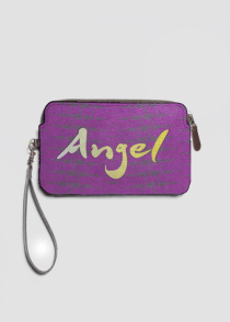 angel leather clutchv2