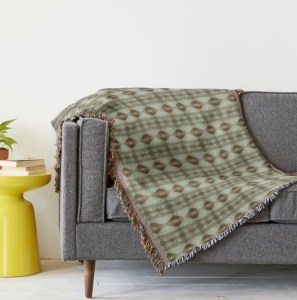 Paz Blanket Throw by Patricia Griffin