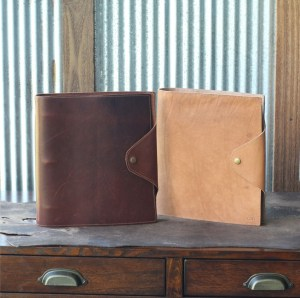 Personalized Leather 3 Ring Binders