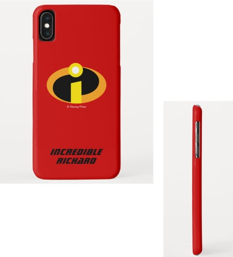 incredibles personalized phone case