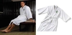 Men's Monogrammed Robe