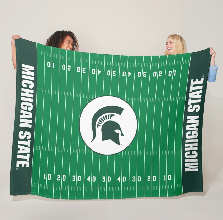 spartan fleece blanket