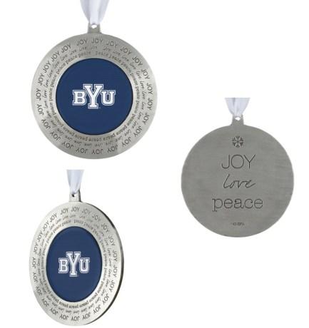 BYU ornament