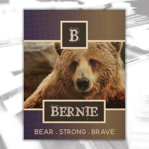 Bernie Wood Wall Decor by Patricia Griffin