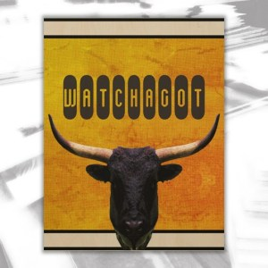 Bull Wood Wall Decor by Patricia Griffin