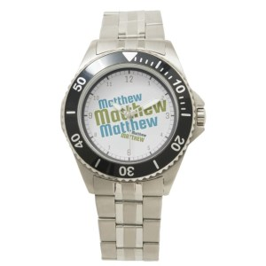 Name Art Watch by Patricia Griffin
