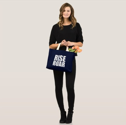 Rise and Roar mini tote