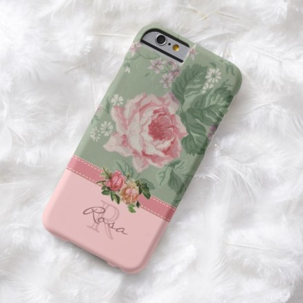 associate personalized rose phone case