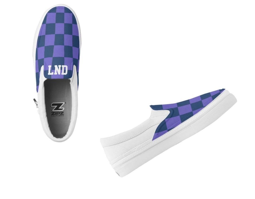 Personalized ZIPZ Slip Ons