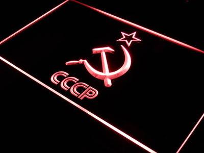 Soviet Union neon sign LED