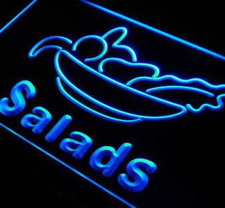 Salads neon sign LED