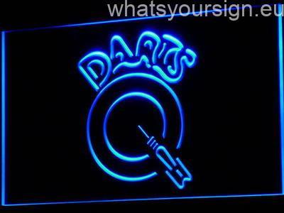Darts neon sign LED