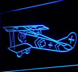Vintage Aircraft neon sign LED