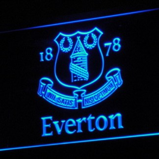 Everton F.C. neon sign LED