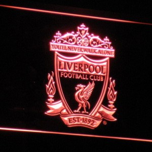 Liverpool F.C. neon light sign