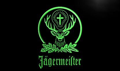 Jagermeister neon sign LED
