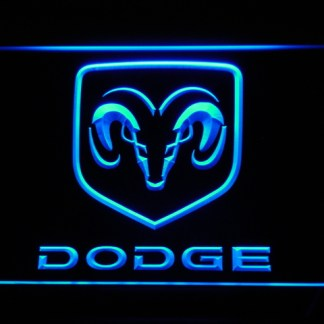 Dodge neon sign LED