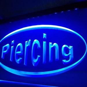 Tattoo Piercing neon light sign