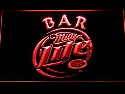 Miller Lite Bar neon sign LED