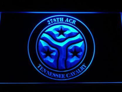 US Army 278th Armored Cavalry Regiment neon sign LED