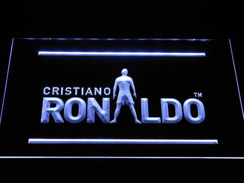 Real Madrid CF Cristiano Ronaldo Silhouette - neon sign - LED sign ...