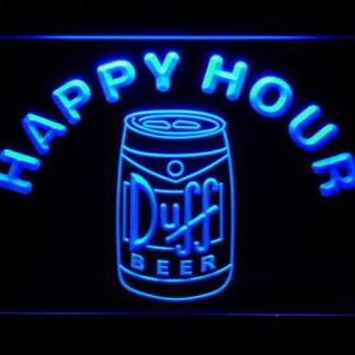 Duff Can Happy Hour neon sign LED