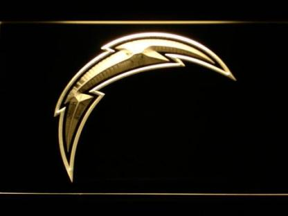 Los Angeles Chargers Bolt neon sign LED