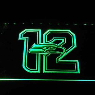 Seattle Seahawks New 12th Man neon sign LED