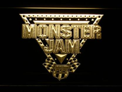 Monster Jam neon sign LED