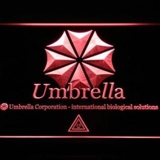 Resident Evil Umbrella Corporation neon sign LED