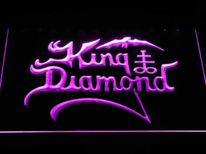 King Diamond neon sign LED
