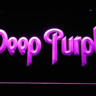 Deep Purple neon sign LED