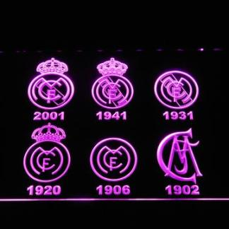 Real Madrid CF Logos neon sign LED
