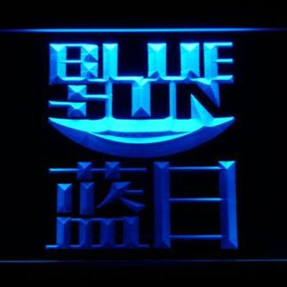 Firefly Blue Sun neon sign LED
