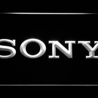 Sony neon sign LED
