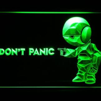 The Hitchhiker's Guide To The Galaxy Don't Panic neon sign LED