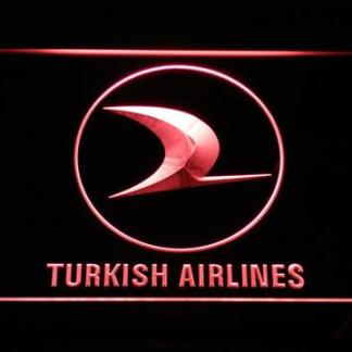 Turkish Airlines neon sign LED