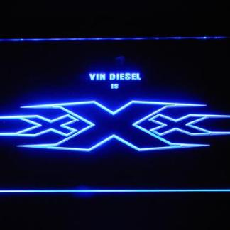 XXX Vin Diesel neon sign LED