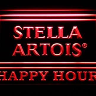 Stella Artois Happy Hour neon sign LED