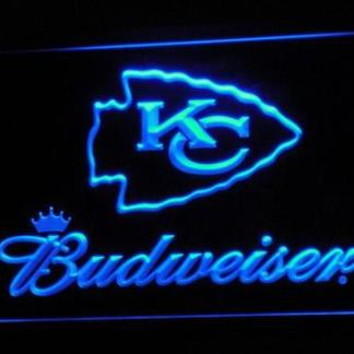 Kansas City Chiefs Budweiser neon sign LED